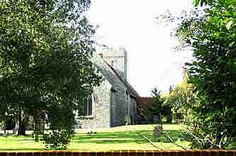 photograph of St Mary Hoo Church