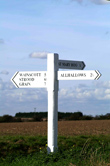 photograph of St Mary Hoo fingerpost