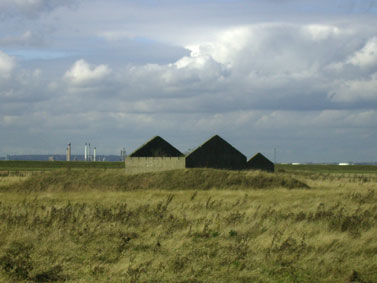 photograph of former explosive storehouses near St Mary Hoo, courtesy of Chris Bull